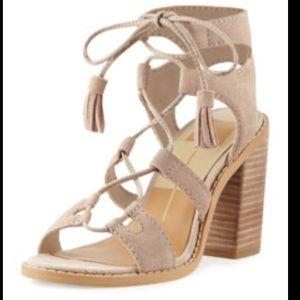 Dolce Vita Lynlee Tassel Lace-Up Sandal 9.5